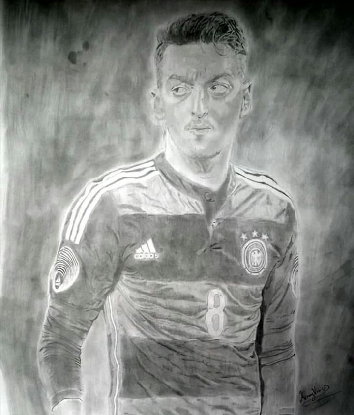 Mesut Özil by Kennybx